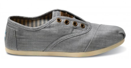 toms cordones chambray