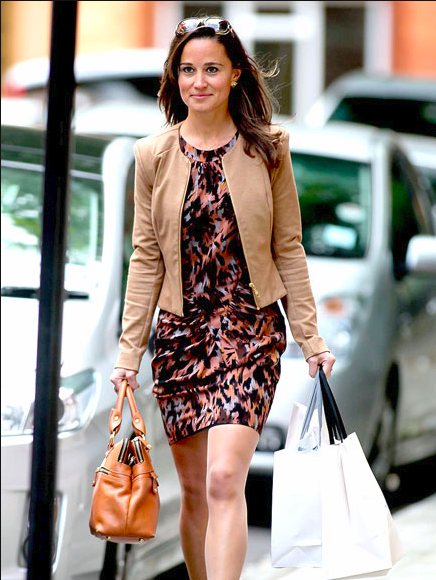 pippa dress & leather jacket