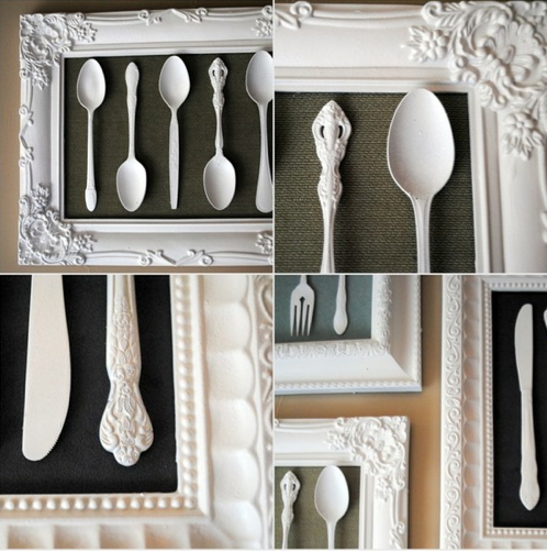 silverware art