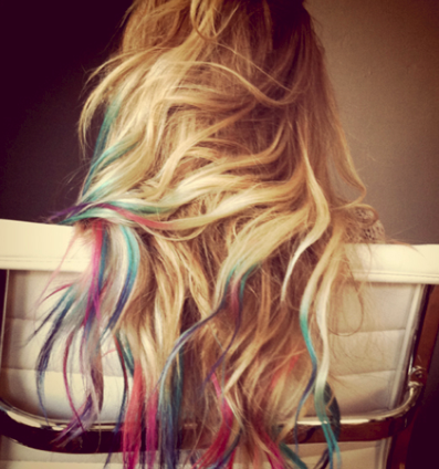 lauren conrad rainbow tips